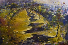 2000 Margaret Lourey 'Vineyard Late Shadows'