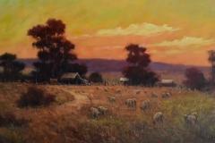 2012 Terry Lewitzka 'Fluerieu Evening'