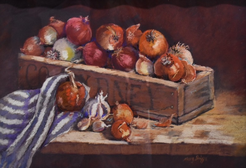 Onion Abundance by Mary Briggs - sponsored by Chrismont Wines