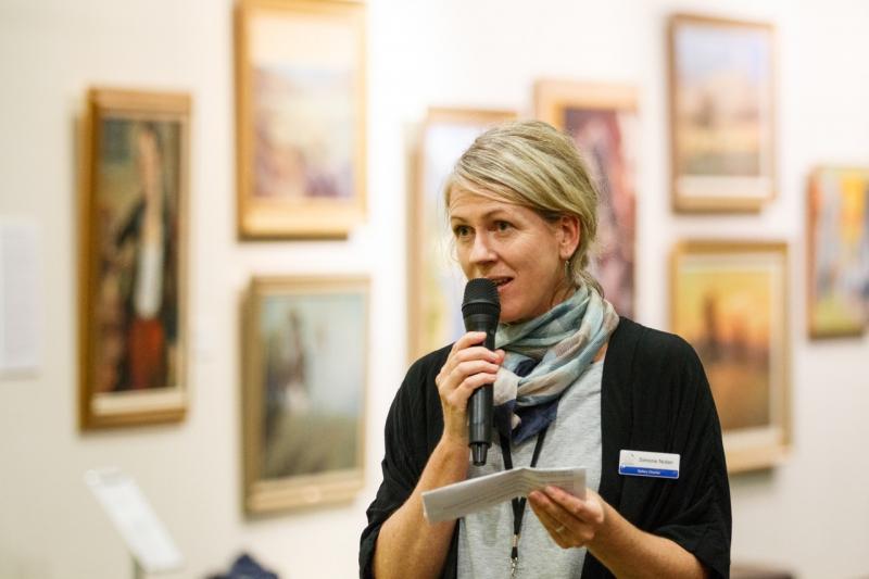 Wangaratta Art Gallery Director, Simone Nolan