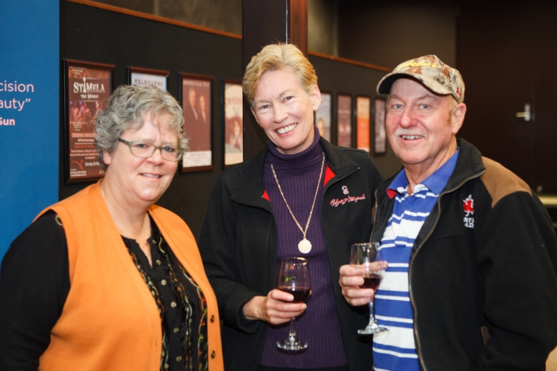 Bobbie Titchener with Sue and Hop Hourigan
