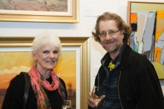 Grand Prize Winning Artists, Chris Sullivan and Frank Burgers